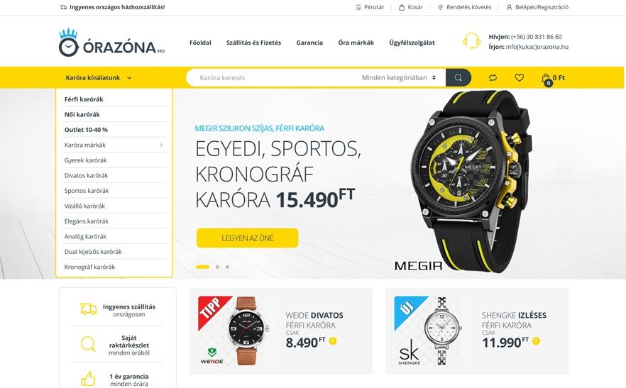 f119f7cabe Órazóna.hu- Az Év honlapja 2019