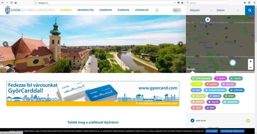 4c8584c479 Hellogyor.hu - Minden program egy helyen!- Az Év honlapja 2019
