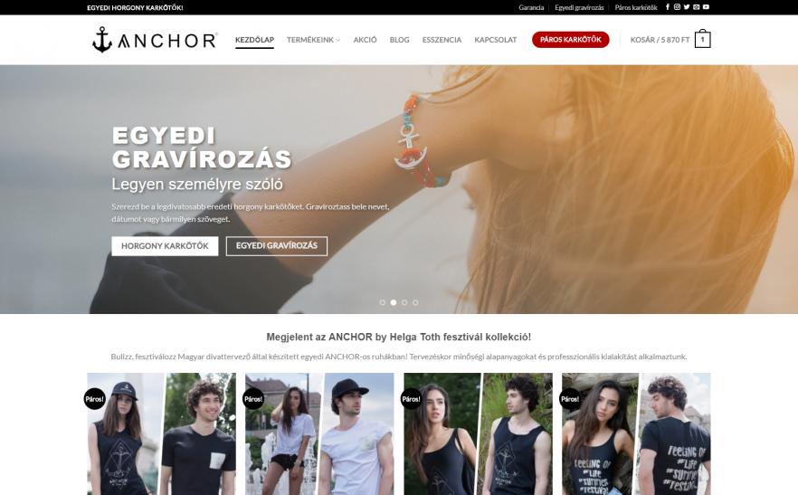f417df51c4 ANCHOR WEBSHOP- Az Év honlapja 2019